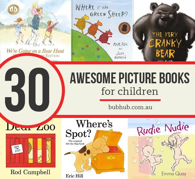 Here's our list of 30 of the best picture books for children. It isn't exhaustive - there are so many awesome children's books out there - but it is a good place to start.