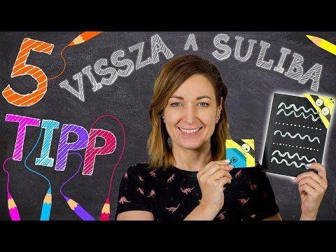 A legjobb Vissza a suliba ötletek 2017 1. rész | INSPIRÁCIÓK Csorba Anitától - YouTube