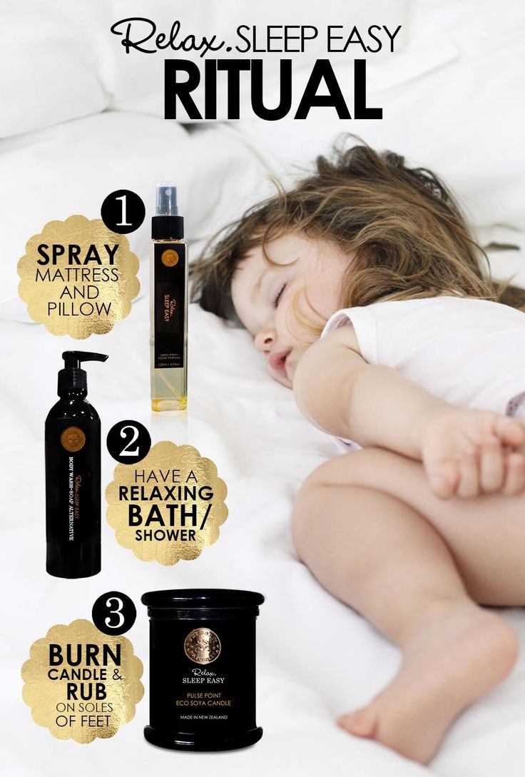 Relax, Sleep Easy Ritual.  Step 1) Linen Spray/Room Parfum  Step 2) Body Wash/Soap Alternative Step 3) Pulse Point Candle