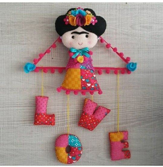Saved for the FRIDA DOLL, not the letters....