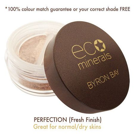Eco Minerals Perfection Foundation | Nourished Life Australia