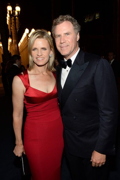 Viveca Paulin and Will Ferrell attend the LACMA 2013 Art + Film Gala honoring Martin Scorsese and David Hockney presented by Gucci at LACMA on November 2, 2013 in Los Angeles, California.