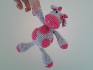 free crochet pattern for a cow toy