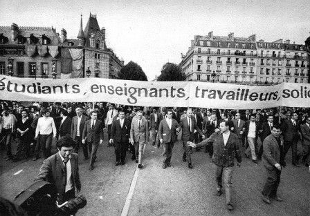 History: This picture shows the Protest. In 1968 there was a protest in France because of the bad educational system and poor working conditions. As a result it changed social changes and raised the minimum wage. France voted against the European constitution in 2005. 3 years later they ratified a similar version of it. In 2008 France struggled with an economic decrease. In 2011 they went into debt and had to cut governments, raise taxes, and unemployment continued to raise.