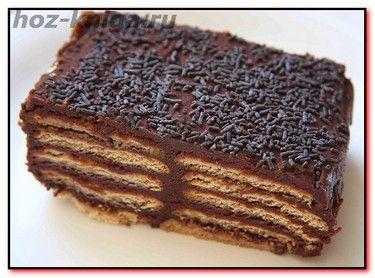 Торт шоколадно карамельный