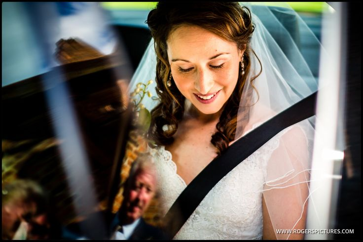 Rosa arriving at Hatfield House for her wedding in The Old Palace -