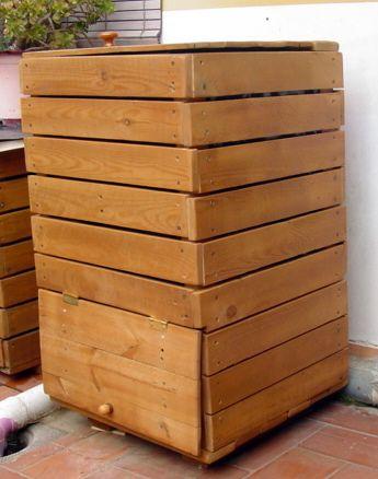 Les 25 meilleures id es de la cat gorie bacs compost en for Container maison 974