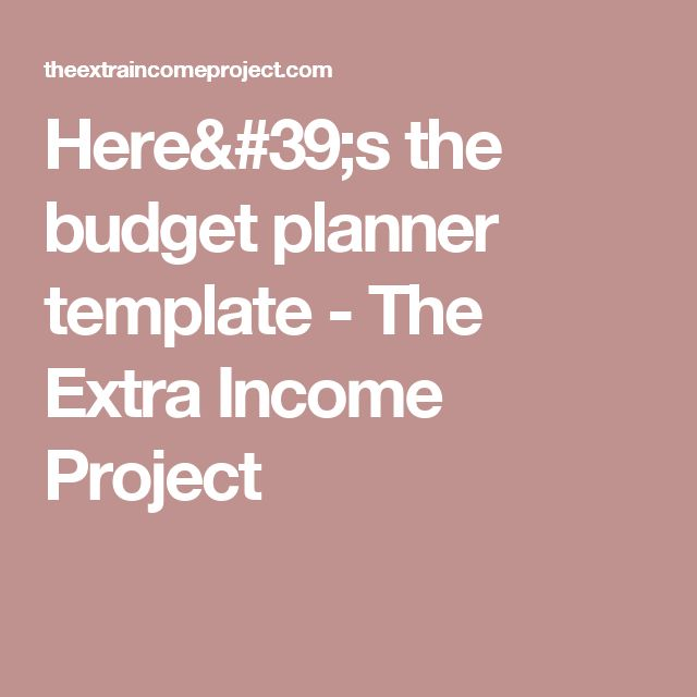 Best  Budget Planner Template Ideas On   Free Budget