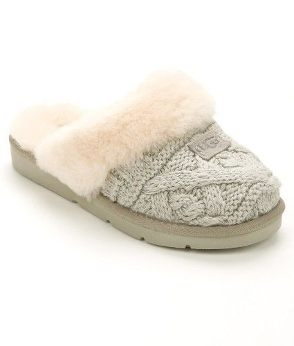 d37cfb55e81f UGG Cozy Cable Knit Slippers | Ugg boots 18.04M | Knitted slippers ...