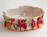 Ruffled Ribbon Bracelet