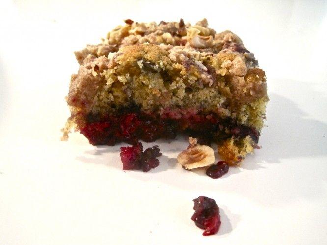 """Sometimes a Great Notion"" Blackberry Hazelnut Coffee-Cake"