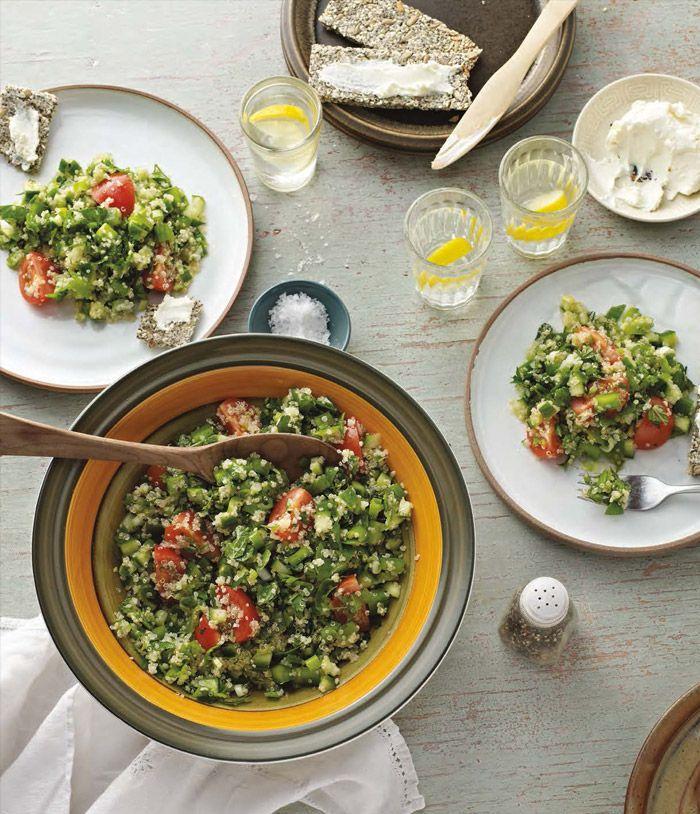 Quinoa Tabbouleh from Sara Wilson's I Quit Sugar Cookbook - One Part Plant
