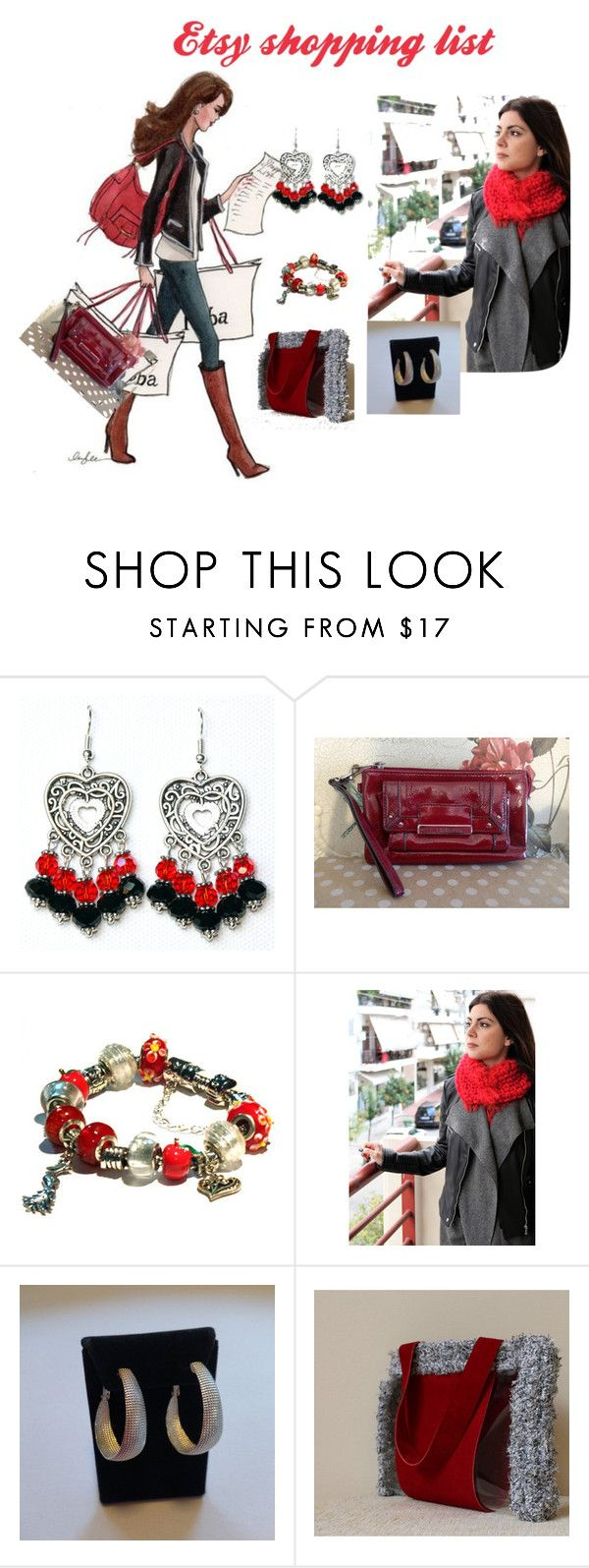 Etsy shopping list by mariliart on Polyvore featuring Handle, Liz Claiborne and vintage @yanamisitreasures @onlybiju @MariliartbyM