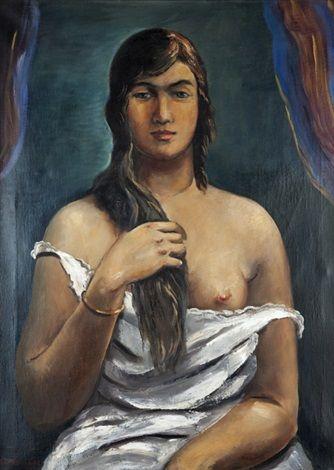 Dívka po koupeli, 1928
