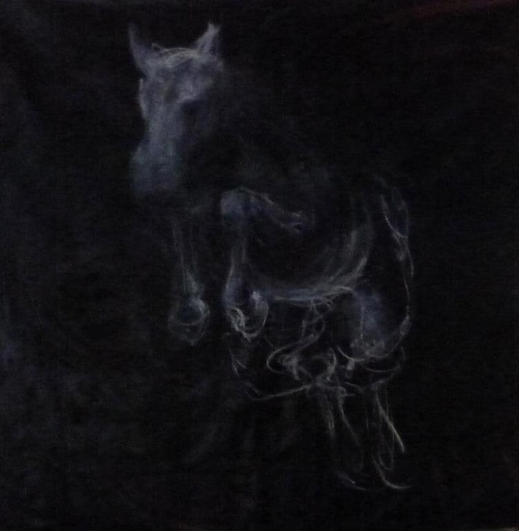 """""""Coming Through the Slaughter"""", a recent work by Melora Walters:"""