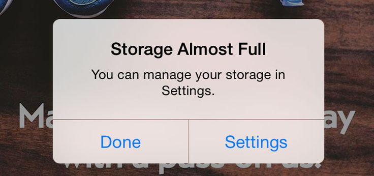 """Learn 10 ways to fix the super annoying """"Storage Almost Full"""" iPhone message. Get rid of the iPhone Storage Almost Full notification on your phone now!"""