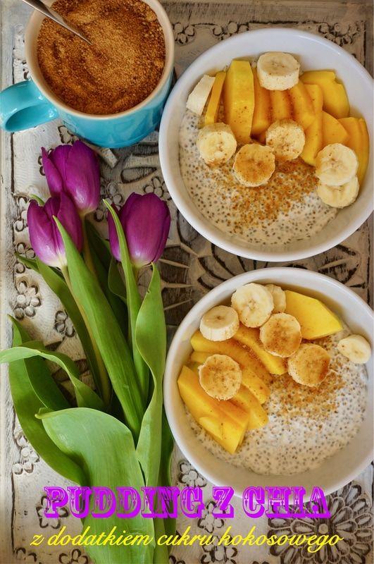 PUDDING Z CHIA Z DODATKIEM CUKRU KOKOSOWEGO http://fantazjesmaku.weebly.com/blog-kulinarny/kokosowy-pudding-z-chia-z-dodatkiem-cukru-kokosowego