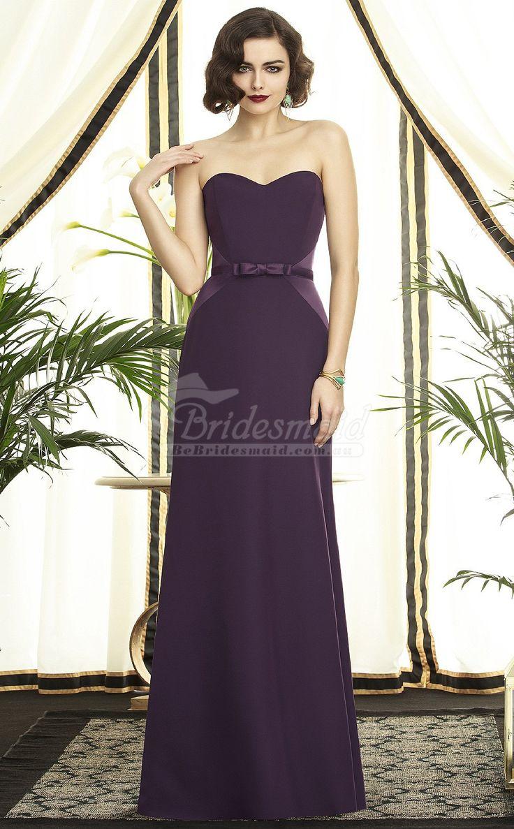 50 best purple bridesmaid dresses images on pinterest purple sexy grape satin chiffon sweetheart long bridesmiad dresspurple bridesmaid dresses ombrellifo Images