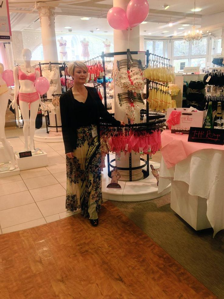 Tutti Rouge are in the building! Pop over to our lingerie department at 1pm for a trend presentation by Creative Director Jessica Prebble ‪#‎fbloggers‬ ‪#‎lingerie‬ ‪#‎pinup‬ ‪#‎print‬ ‪#‎ss15‬