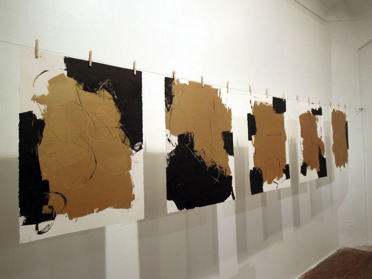 """Exposición """"Ilustraciones"""" de Smiljan Radic + Alejandro Lüer,Smiljan Radic…"""