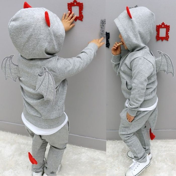 How cute is this outfit for your little devil ? - Buywithagents starts 15$