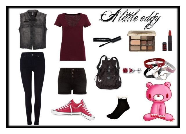 """A little Edgy"" by blondieau on Polyvore"