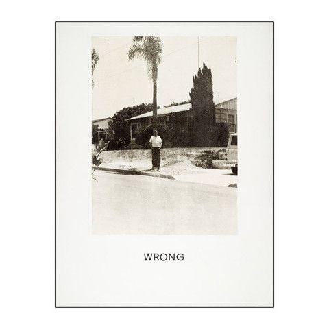LACMA Store - John Baldessari: 'Wrong' Print