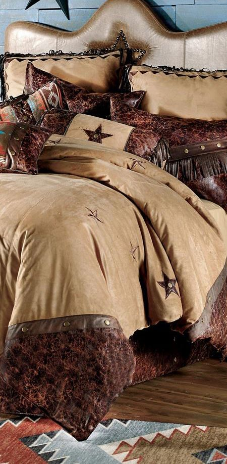 Starlight Trails Bedding #western