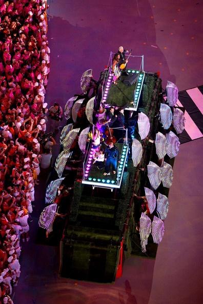8/24/08 w/ Leona Lewis. The closing ceremony of the 2008 Summer Olympics, Beijing National Stadium, Beijing, China.