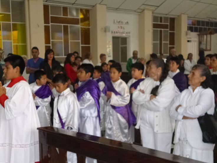 Con gran gozo y alegría hermanos y Hermanas en Cristo el día de hoy comenzamos nuestro Triduo Pascual, vivamos con profunda devoción estos días. #CristoViveEnMedioDeNostros #ArqTl.