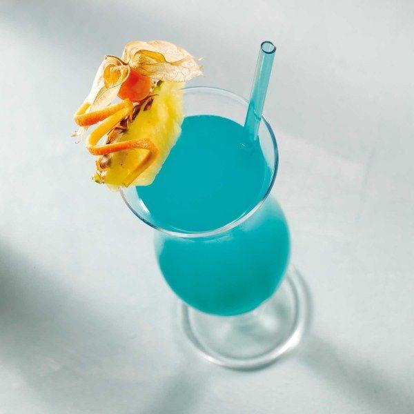 Een echte eyecatcher: Blue lagoon #cocktail #zomer #WeightWatchers #WWrecept