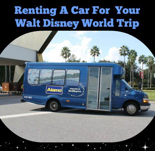 Alamo Car Rental Magic Kingdom