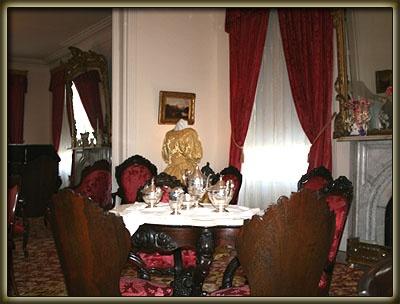Interior of Rosalie Antebellum Home Natchez MS Historic