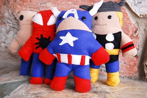 Superhero doll PDF pattern