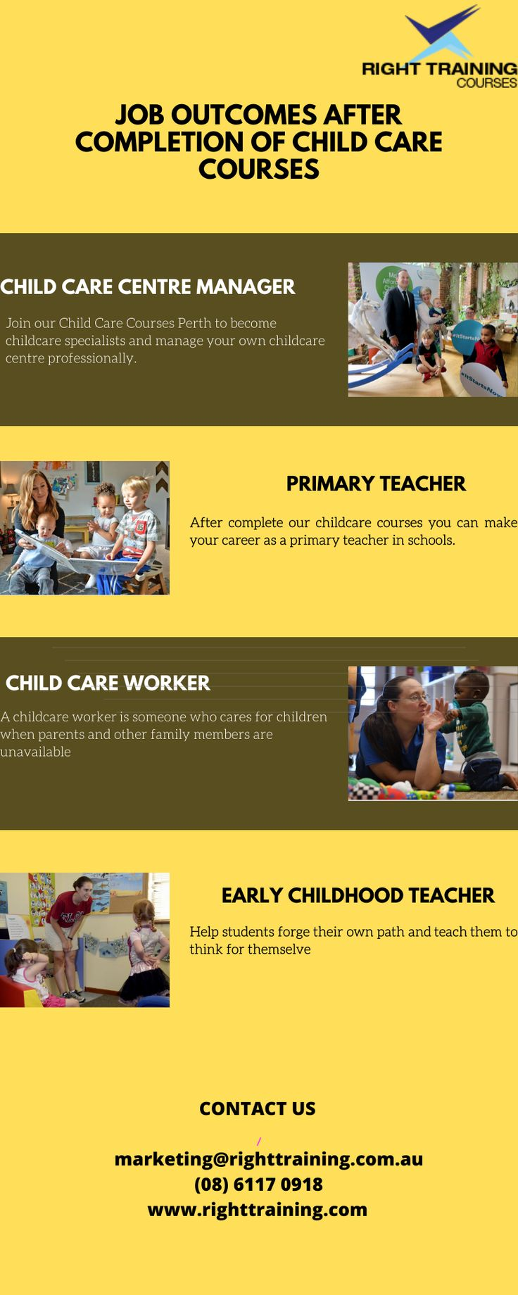 Join our Child Care Courses Perth to childcare