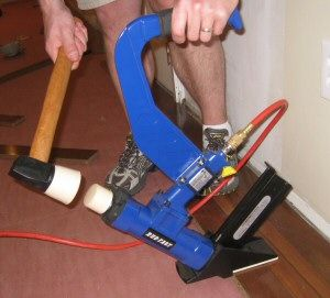 We first ran this article in 2010. It provides detailed instructions for installing hardwood flooring over a wood substructure. It chronicles tutorials for each step of the process, derived from our installation of 3/4 inch solid, tongue-and-groove Brazilian Walnut hardwoods in our own home! At the bottom, we provide links to posts on the tools we use and frequently recommend for hardwood installation. Below is one picture of the final product. Here's the rest. This project was a lot of fun…