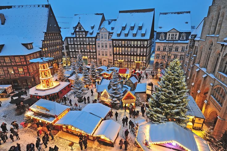 Weihnachtsmarkt in Hildesheim, Germany