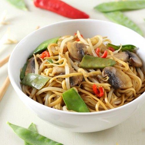 Veggie chow mein Recipe