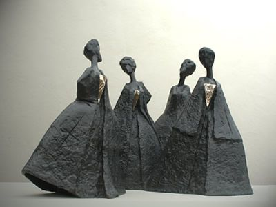 Philip Jackson Sculpture : Small Works : Alcina's Ball : Sculptor Philip Jackson