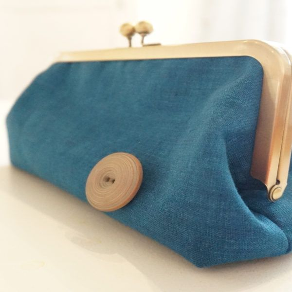 Carlacopia Retro Button Clutch
