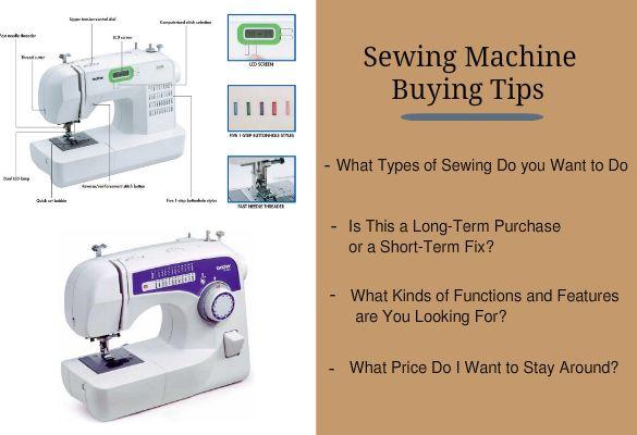 Sewing Machine Buying Tips