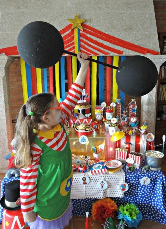 ideas fiesta cumpleaos circo