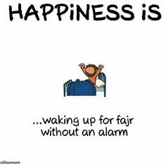Who can wake up without an alarm for Fajr? Press ❤️ for every day Press for almost every day Press I need an alarm! #Fajr