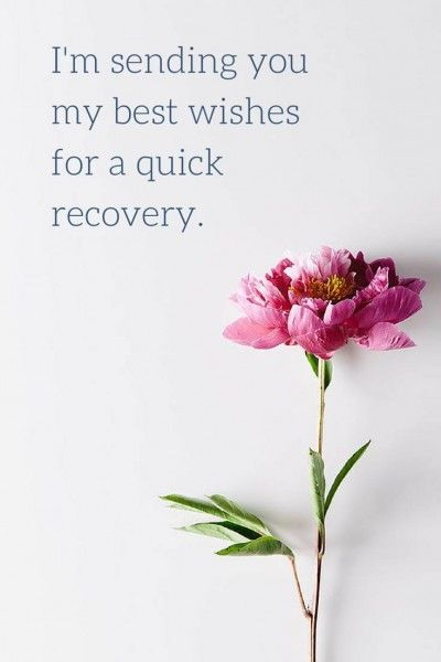 """I'm sending you my best wishes for a quick recovery.  Click on this picture to see the biggest selection of """"get well soon"""" messages!"""