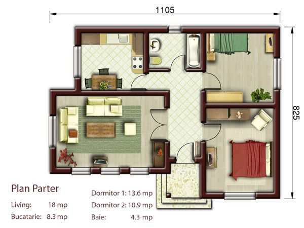În momentul în care doriţi să construiţi o casă, cu siguranţă v-aţi dori ca aceasta să fie cât mai performantă şi să vă aducă foarte multe beneficii. În ultimii ani, proiectele de case mici şi ieftine sunt din ce în ce mai solicitate, asta şi datorită costului de construcţie aproximativ egal cu cost