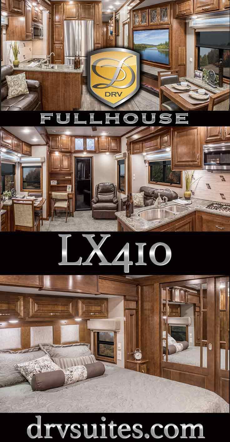 2017 Full House LX410 Toy Hauler   DRV Luxury Suites