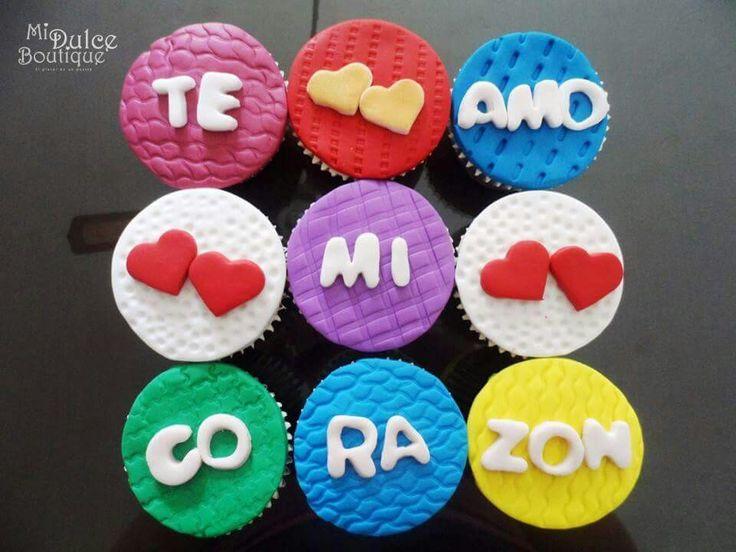 Cupcakes Te Amo