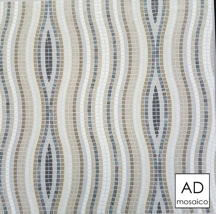 Decoro ETHOS GRIGIO  mosaico 10x10 mm info@admosaico.com