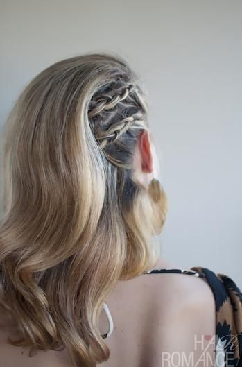 101 Braid Hairstyles You Need to Know | Beauty High.............Looking to get hair out of your way without pulling all of it up? Try this side-braided style, the easy (and commitment-free) way to get the feeling of a half-shave.