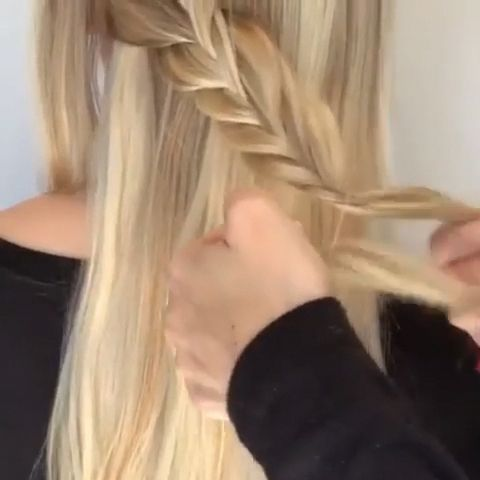 For more video tutorial about hair just visit our cutie pie  web-site! #updos #videotutorial #hairtutorial #hairvideos #ombre #sombre #updo #Longhairupdo